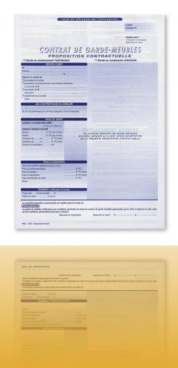 Modele bail garde meuble document online for Bail meuble modele